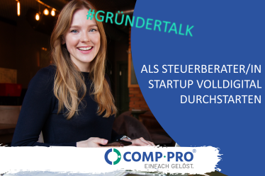 Comp-Pro Gründertalk Datev