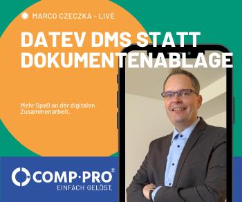 Marco Czeczka zum Thema DATEV DMS